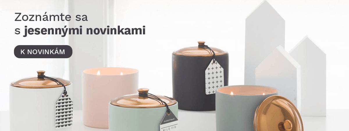 nové svíčky - podzim