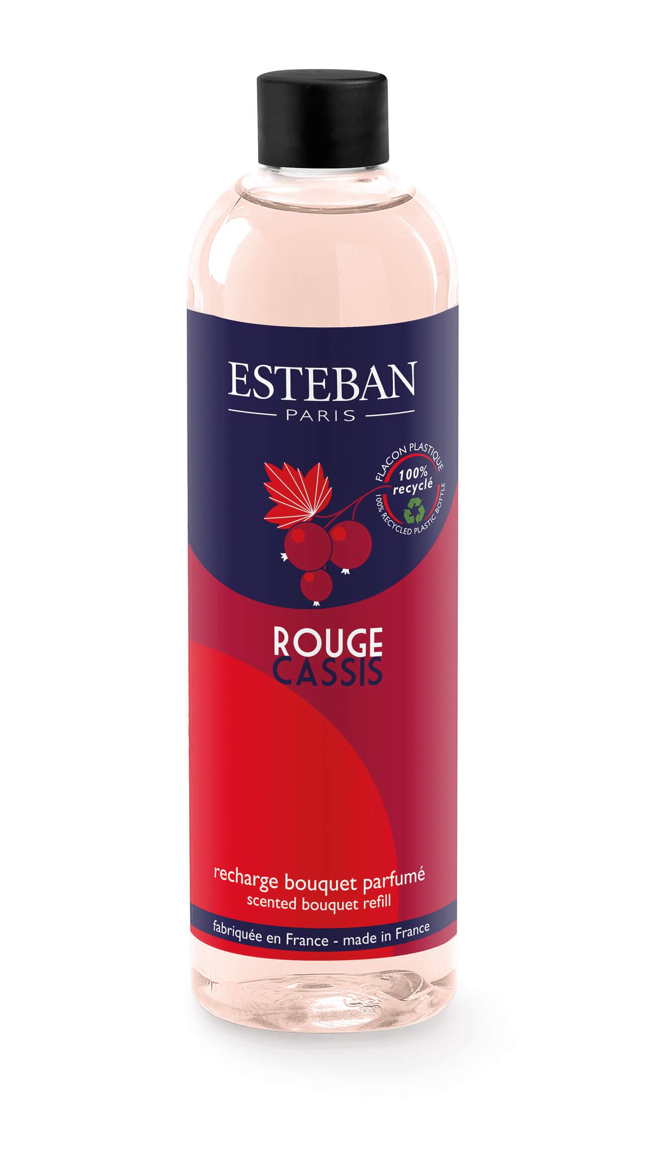 Levně Estéban Paris Parfums NÁPLŇ DO DIFUZÉRU ESTEBAN - RYBÍZ A GRANÁTOVÉ JABLKO, 250 ML 250 ml