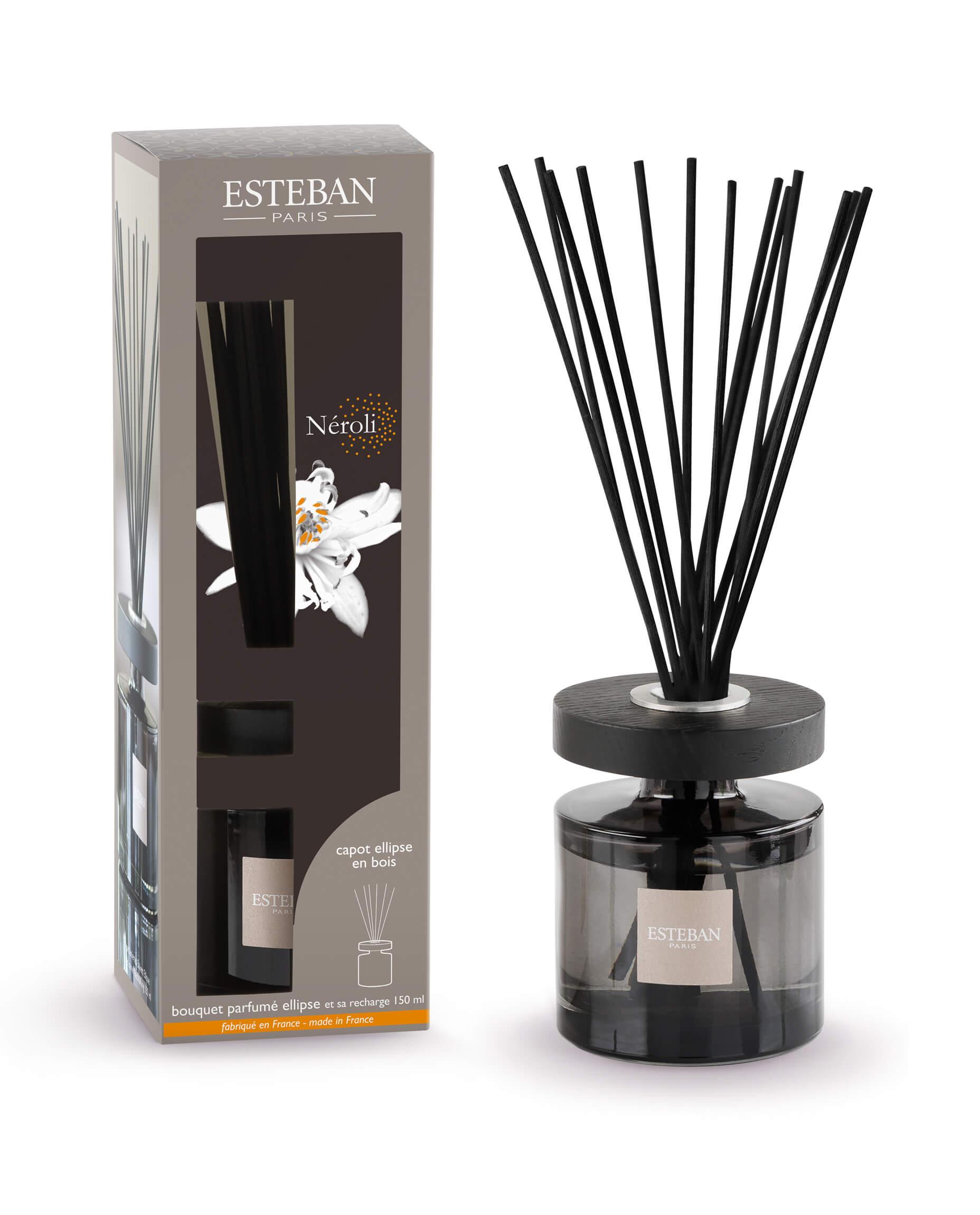Levně Estéban Paris Parfums AROMA DIFUZÉR ESTEBAN ELLIPSE BOUQUET- NEROLI, 150 ML 150 ml