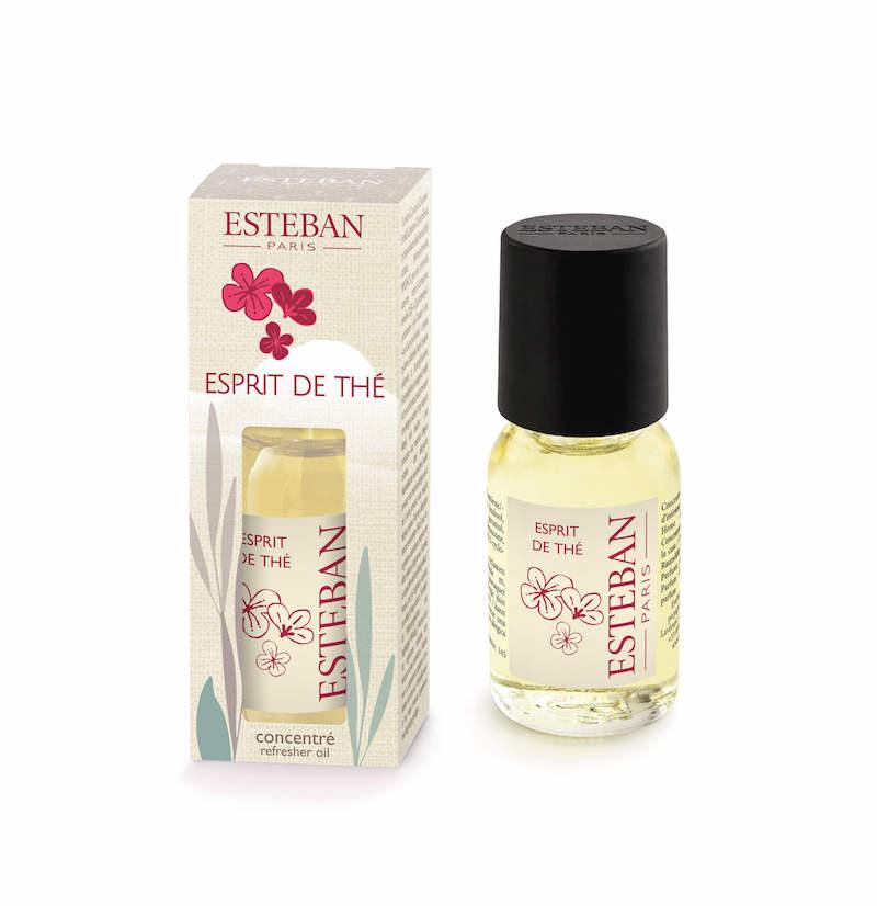 Levně Estéban Paris Parfums AROMA OLEJ ESTÉBAN - ČAJOVÝ DÝCHÁNEK, 15 ML 15 ml