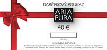 Darčekový poukaz na 40 EUR