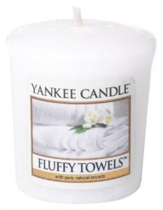 Sviečka Votiv, YANKEE CANDLE, Fluffy Towels