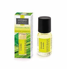 AROMAÖL ESTÉBAN ANTIMOSKITO- LEMONGRASS UND MINZE, 15 ML
