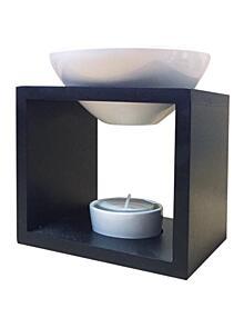 Galeo fekete aromalámpa - Kocka forma