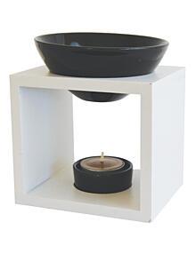 Galeo fehér aromalámpa - Kocka forma