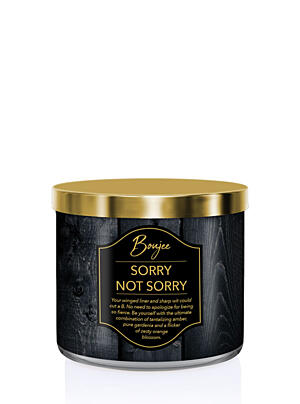 KRINGLE CANDLE DUFTKERZE BOUJEE – SORRY NOT SORRY, 411 G