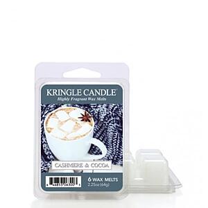 KRINGLE CANDLE, VONNÝ VOSK - CASHMERE&COCOA, 64 G
