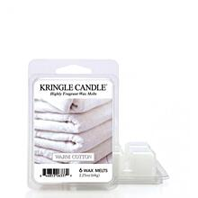 KRINGLE CANDLE, DUFTWACHSE - WARM COTTON, 64 G