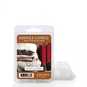 KRINGLE CANDLE, VONNÝ VOSK - WARM&FUZZY, 64 G