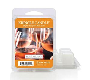KRINGLE CANDLE, VONNÝ VOSK - ROSÉ ALL DAY, 64 G