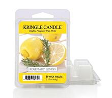 KRINGLE CANDLE, ILLATOS VIASZ - ROSEMARY LEMON, 64 G