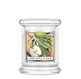 KRINGLE CANDLE kleine Duftkerze - CRISP APPLE AND SAGE