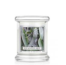 KRINGLE CANDLE VONNÁ SVÍČKA MALÁ - EUCALYPTUS MINT