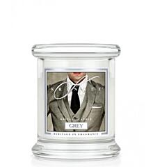 KRINGLE CANDLE KIS ILLATGYERTYA - GREY