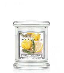 KRINGLE CANDLE KIS ILLATGYERTYA - ROSEMARY LEMON