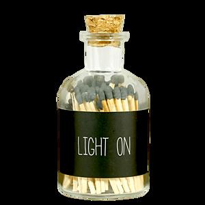 MY FLAME ZÁPALKY - LIGHT ON