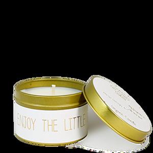 MY FLAME LLATGYERTYA - ENJOY THE LITTLE THINGS - FRESH COTTON