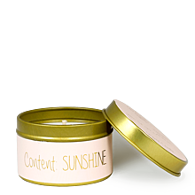 MY FLAME LLATGYERTYA - CONTENT: SUNSHINE - GREEN TEA TIME