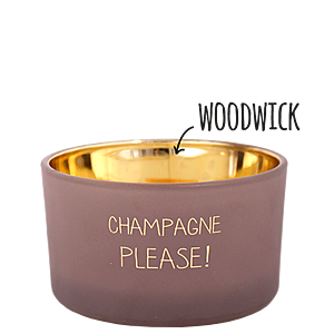 MY FLAME DUFTKERZE - CHAMPAGNE PLEASE - FIG'S DELIGHT