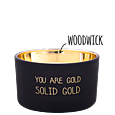 MY FLAME LLATGYERTYA - YOU ARE GOLD. SOLID GOLD - WARM CASHMERE
