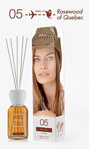Mr&Mrs Fragrance Easy difuzér - Palissandro (Palisander)