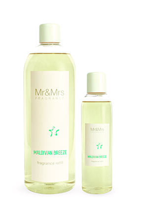 MR&MRS FRAGRANCE NÁPLŇ DO DIFUZÉRU - MALDIVIAN BREEZE, 1000 ML