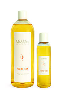 MR&MRS FRAGRANCE NÁPLŇ DO DIFUZÉRU - MINT OF CUBA, 200 ML