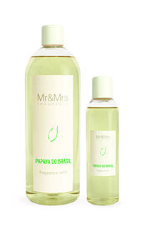 MR&MRS FRAGRANCE DIFFÚZOR UTÁNTÖLTŐ - PAPAYA DO BRASIL, 200 ML