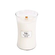 WOODWICK VONNÁ SVÍČKA VELKÁ - WHITE TEAK, 609 G