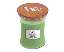 WOODWICK DUFTKERZE MITTELGRÖßE - HEMP&IVY, 275 g