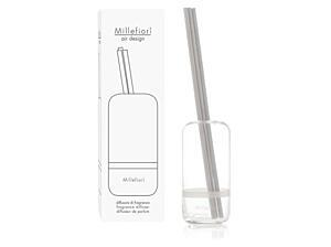 Designový tyčinkový difuzér Millefiori – Capsule čirý, 250 ml
