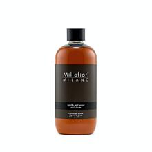 Náplň do aroma difuzéru 500ml, NATURAL, Millefiori, Vanilka - dřevo
