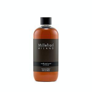 Utántöltő aroma diffúzorba 500ml, NATURAL, Millefiori, Vanília - fa