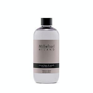 Náplň do aróma difuzéru 500 ml, NATURAL, Millefiori, Biele kakao – drevo