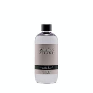 Náplň do aroma difuzéru 250ml, NATURAL, Millefiori, Bílé kakao – dřevo